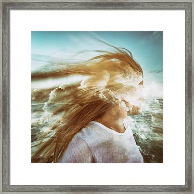 Fantasy Framed Print by Stelios Kleanthous