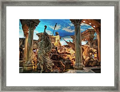 Fantasy Framed Print by Stephen Campbell