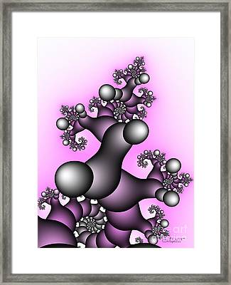 Fantasy Tree Framed Print by Jutta Maria Pusl