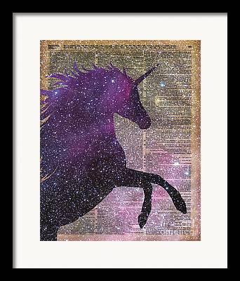 Unicorn Framed Prints