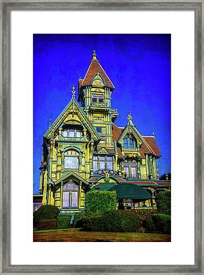 Fantasy Victorian Framed Print by Garry Gay