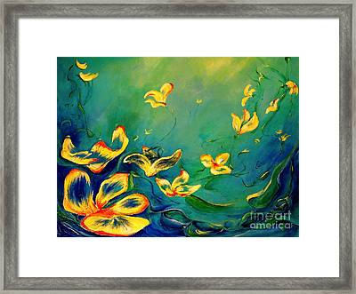 Fantasy World Framed Print by Teresa Wegrzyn