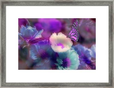 Fantasy's Garden Framed Print