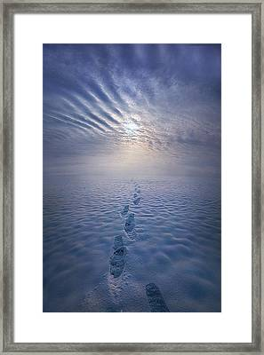 Framed Print featuring the photograph Far And Away by Phil Koch