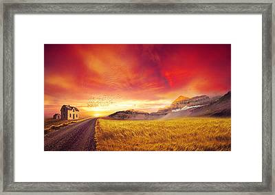 Far Away Land Framed Print