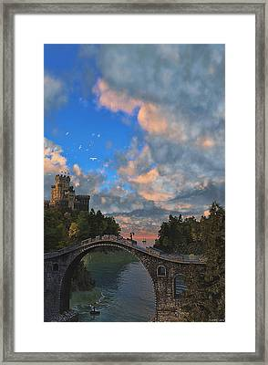 Far Away Place Framed Print