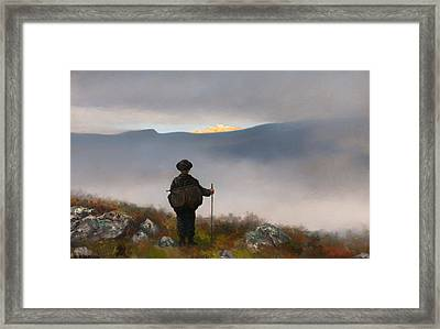 Far Away Soria Moria Palace Shimmered Like Gold Framed Print