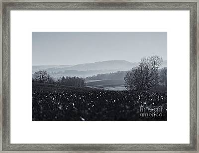 Far Away, The Misty Mountains Cold Framed Print