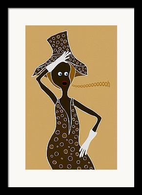 Afroamerican Art Framed Prints