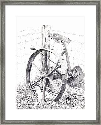 Far From The Maddening Crowd Framed Print by Wendy Mould