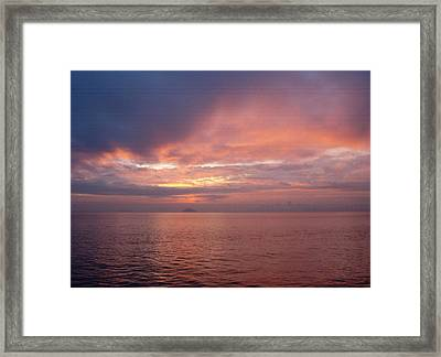 Far-off Point Framed Print by Vari Buendia