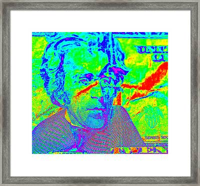 Far Out Funds Framed Print