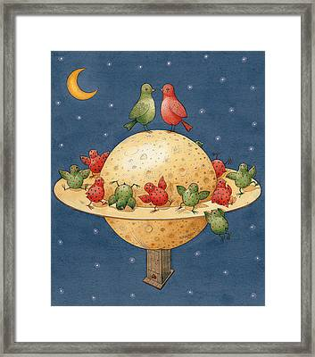 Far Planet Framed Print by Kestutis Kasparavicius