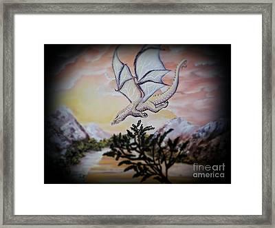 Faranth Framed Print by Dianna Lewis