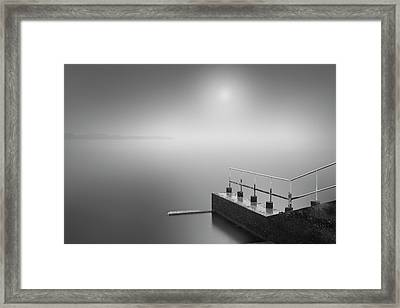 Faraway Shore Framed Print by Cho Me