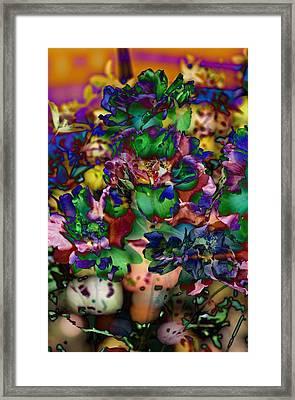 Floral Bush Framed Print