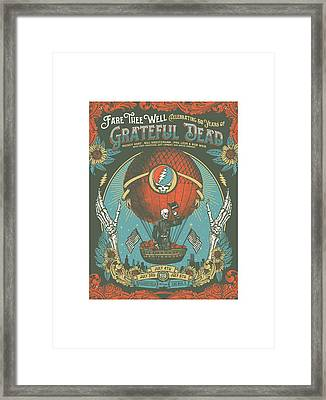 Fare Thee Well Framed Print by Gd