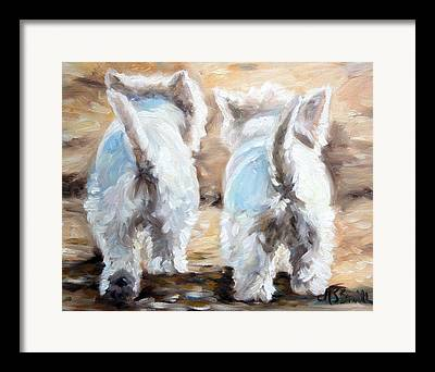 Tails Paintings Framed Prints