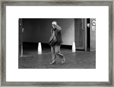Farewell Romford And Thanks Framed Print by Jez C Self