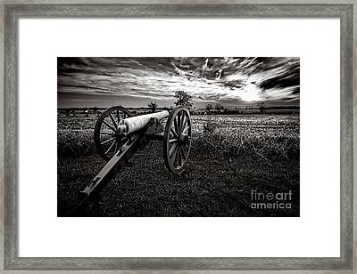 Farewell To Gettysburg Framed Print by Olivier Le Queinec