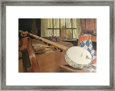 Farewell To Thee Old Joe Framed Print by Patsy Kline