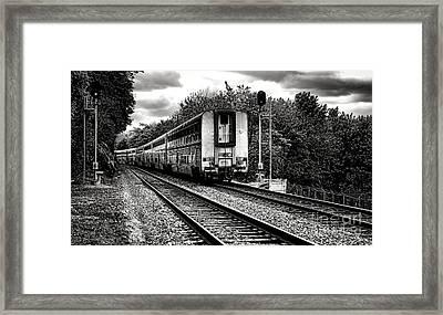 Farewell Traveler  Framed Print by Olivier Le Queinec