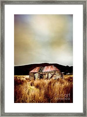 Fargone Farmhouse Framed Print