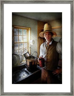 Farm - Farmer - The Farmer Framed Print