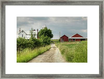 Farm Framed Print by Ann Bridges