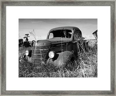 Farm Car Framed Print