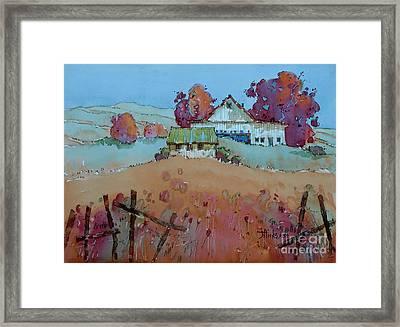 Farm Charm Framed Print