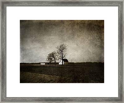 Farm Framed Print by Cynthia Lassiter