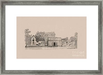 Farm Dwellings Framed Print