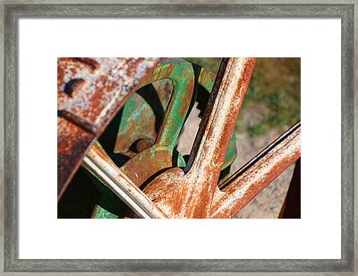 Framed Print featuring the photograph Farm Equipment 2 by Ely Arsha