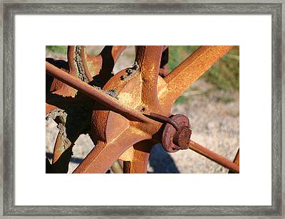 Framed Print featuring the photograph Farm Equipment 3 by Ely Arsha