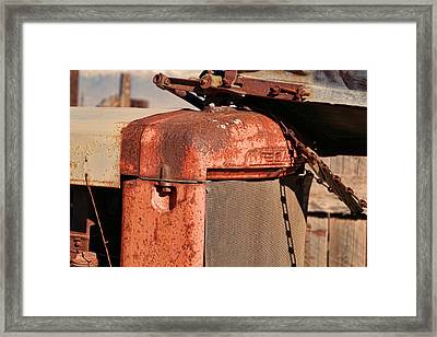 Framed Print featuring the photograph Farm Equipment 8 by Ely Arsha