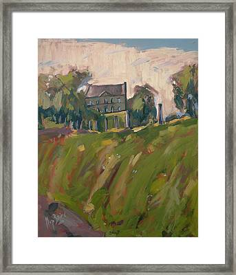 Farm Estate Zonneberg Framed Print by Nop Briex