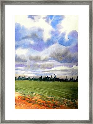 Farm  Field P.e.i. Framed Print by Patricia Bigelow