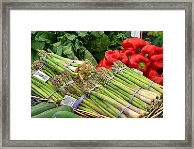 Farm Fresh Joy Nj Framed Print by Regina Geoghan