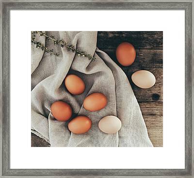Framed Print featuring the photograph Farm Fresh by Kim Hojnacki