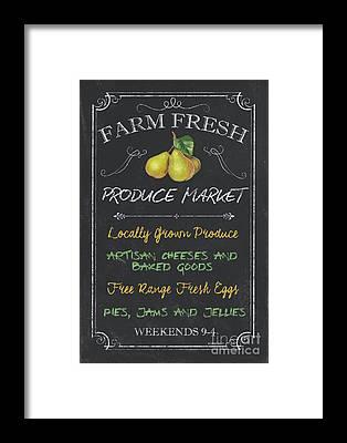 Farmers Market Framed Prints