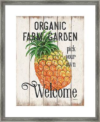 Farm Garden 1 Framed Print