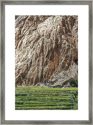 Farm House Framed Print by Hitendra SINKAR
