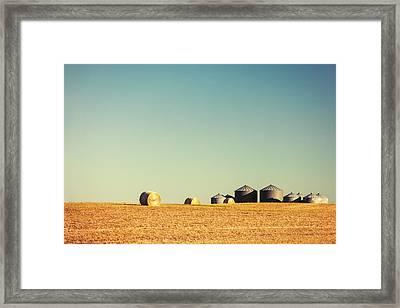 Farm Land Framed Print by Todd Klassy