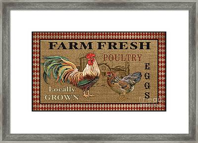 Farm Life-jp3238 Framed Print by Jean Plout