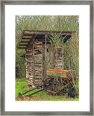 Farm Life  Framed Print by Susan Leggett