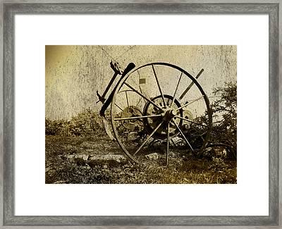 Farm Machinery Framed Print by Gareth Davies