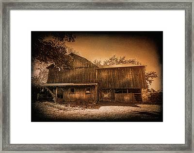 Farm Memories Framed Print by Marvin Spates