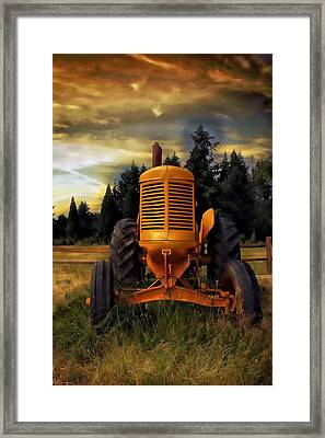 Framed Print featuring the photograph Farm On by Aaron Berg