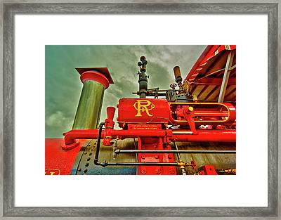 Farm Ready Framed Print by Dale Stillman
